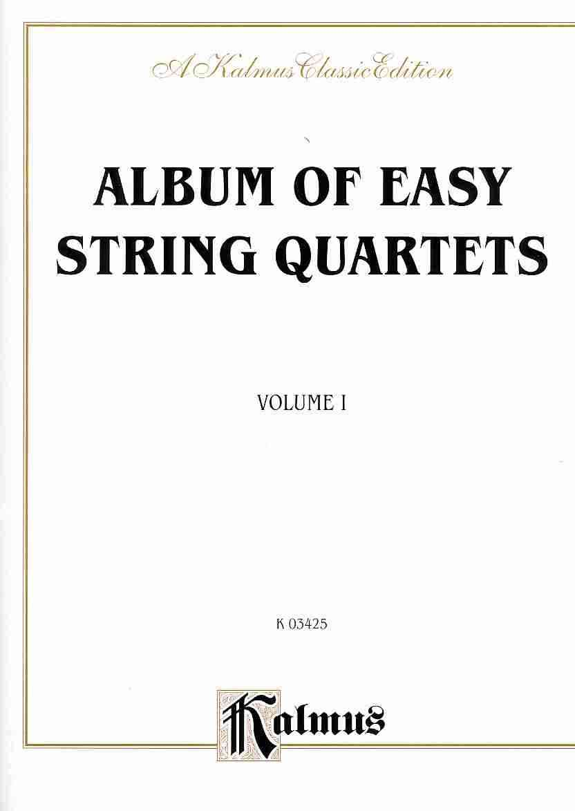 Album of Easy String Quartets By Alfred Publishing (COR)