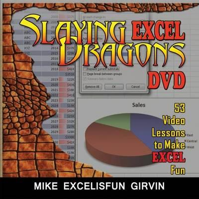 [DVD] Slaying Excel Dragons By Girvin, Mike